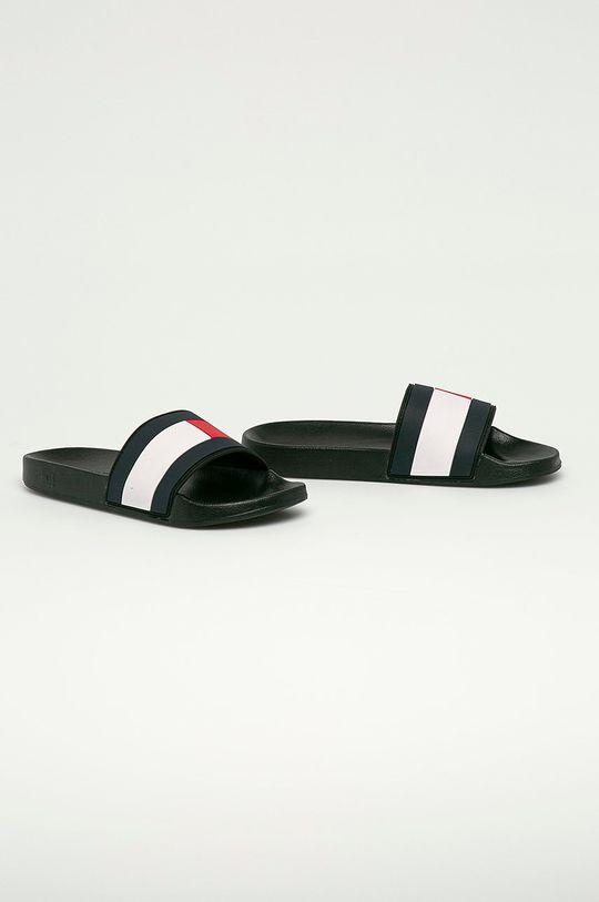 Tommy Hilfiger - Pantofle černá