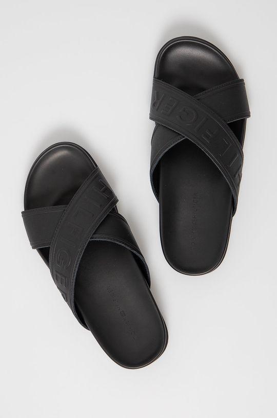 Tommy Hilfiger - Šľapky čierna
