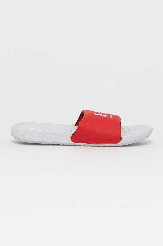 červená Under Armour - Pantofle Pánský