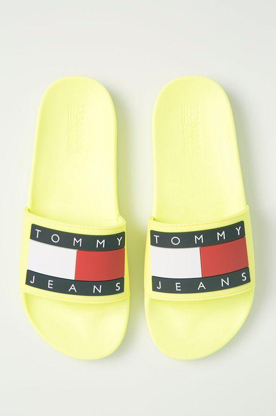 žltá Tommy Jeans - Šľapky