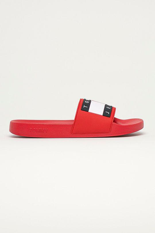 červená Tommy Jeans - Pantofle Pánský