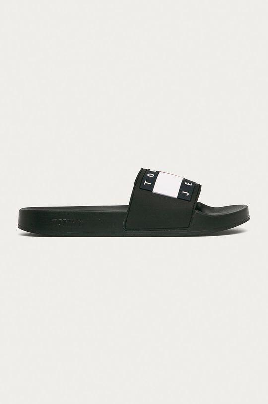 čierna Tommy Jeans - Šľapky Pánsky