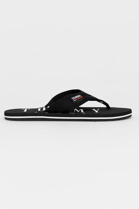 čierna Tommy Jeans - Žabky Pánsky
