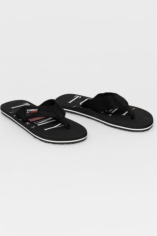 Tommy Jeans - Žabky čierna