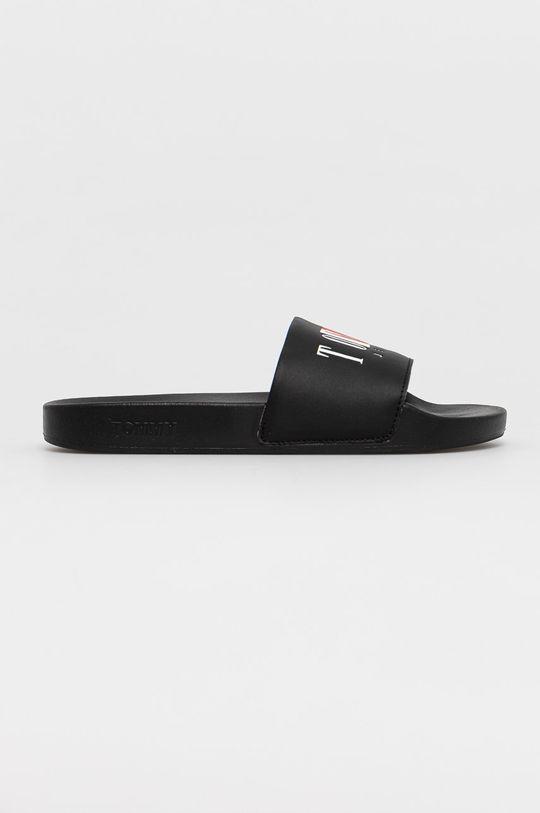 černá Tommy Jeans - Pantofle Pánský