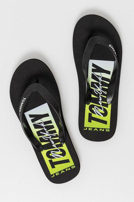 Tommy Jeans - Žabky černá