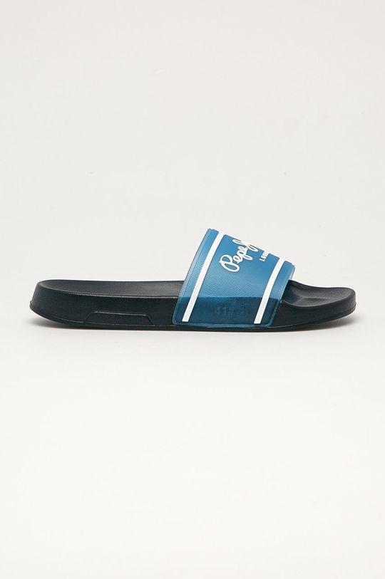 modrá Pepe Jeans - Pantofle Translucent Pánský