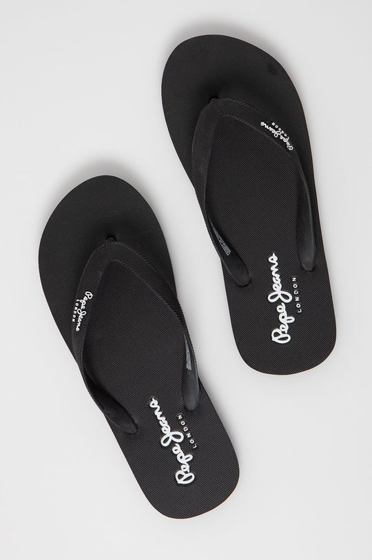 čierna Pepe Jeans - Žabky Bay Beach Classic