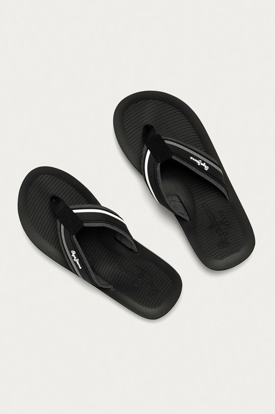 Pepe Jeans - Žabky South Beach čierna