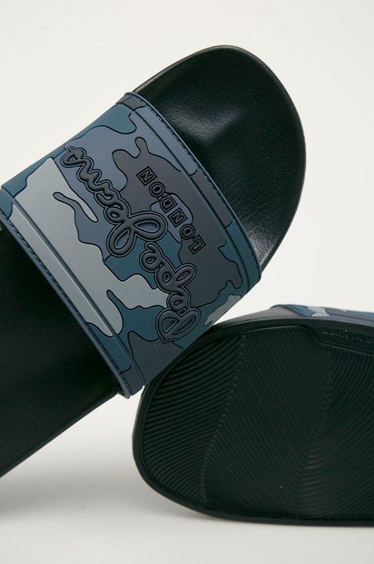 Pepe Jeans - Pantofle Mimetic námořnická modř