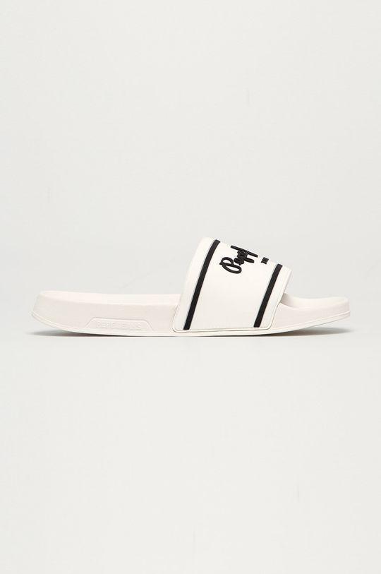 biela Pepe Jeans - Šľapky Slider Basic 2.0 Pánsky