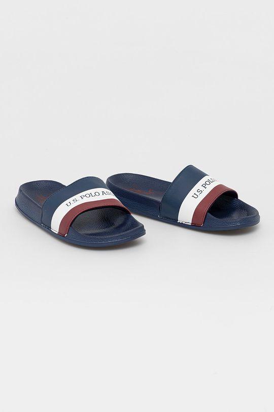 U.S. Polo Assn. - Pantofle námořnická modř