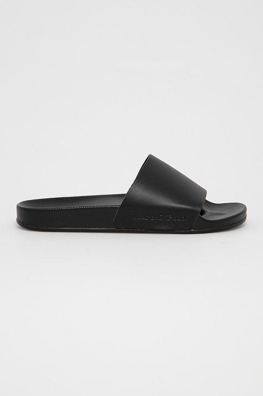 černá Marc O'Polo - Kožené pantofle Pánský