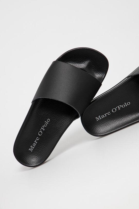 černá Marc O'Polo - Kožené pantofle
