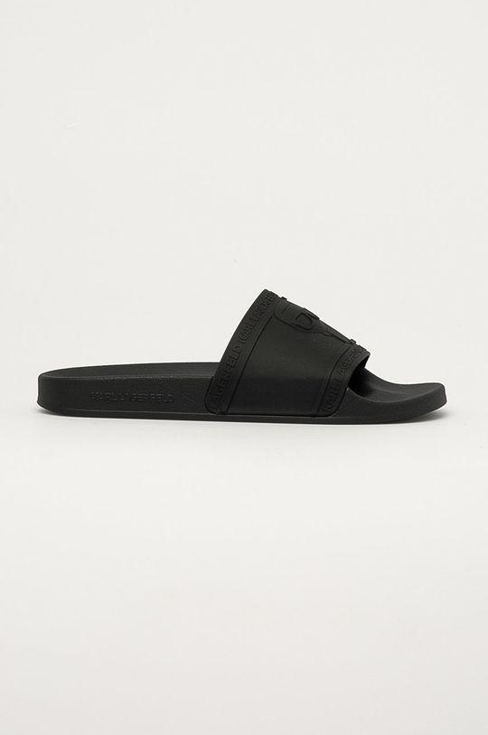 čierna Karl Lagerfeld - Šľapky Pánsky
