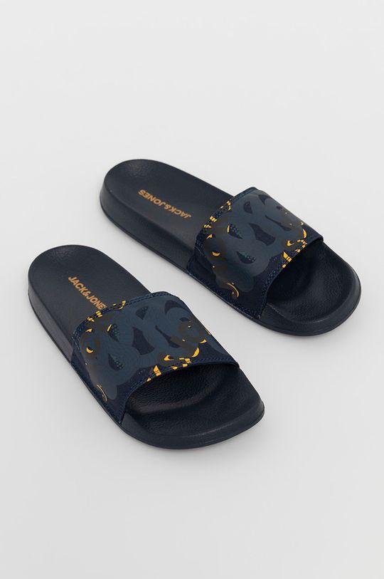 Jack & Jones - Pantofle námořnická modř