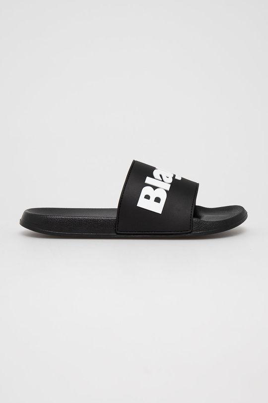 černá Blauer - Pantofle Pánský