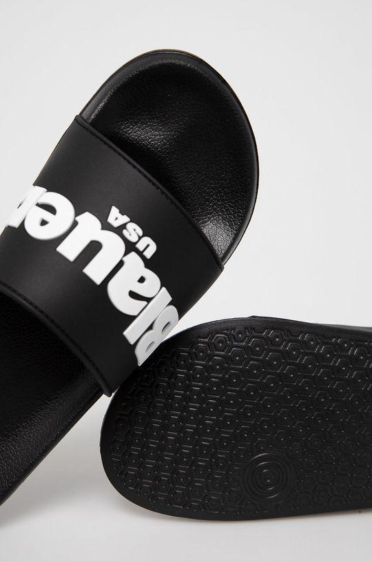 černá Blauer - Pantofle
