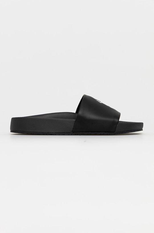 czarny Polo Ralph Lauren - Klapki Męski