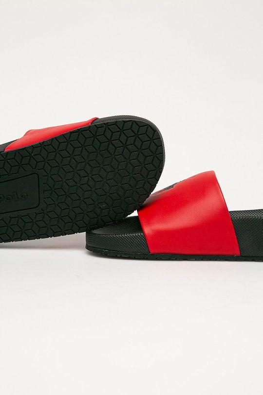 Polo Ralph Lauren - Pantofle  Svršek: Umělá hmota Vnitřek: Umělá hmota, Textilní materiál Podrážka: Umělá hmota