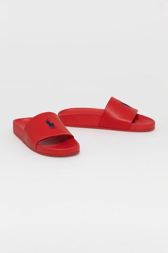 Polo Ralph Lauren - Pantofle červená