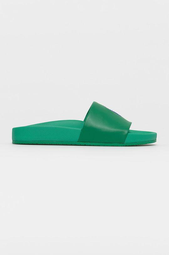 zelená Polo Ralph Lauren - Šľapky Pánsky