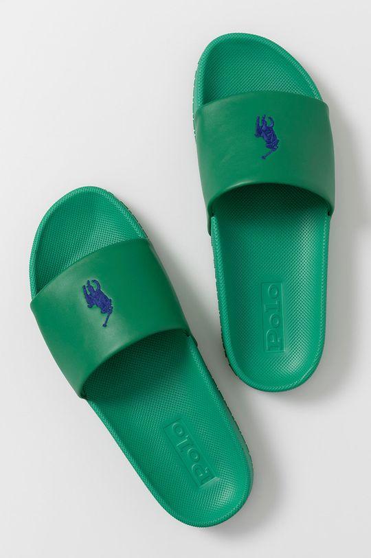 Polo Ralph Lauren - Šľapky zelená