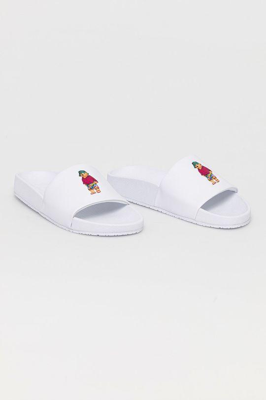 Polo Ralph Lauren - Šľapky biela