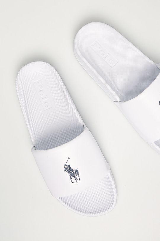 Polo Ralph Lauren - Klapki biały
