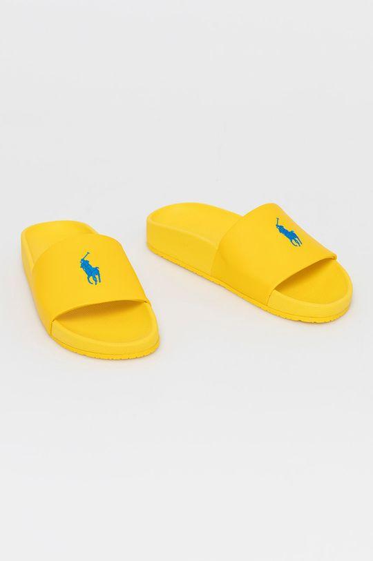 Polo Ralph Lauren - Papuci galben