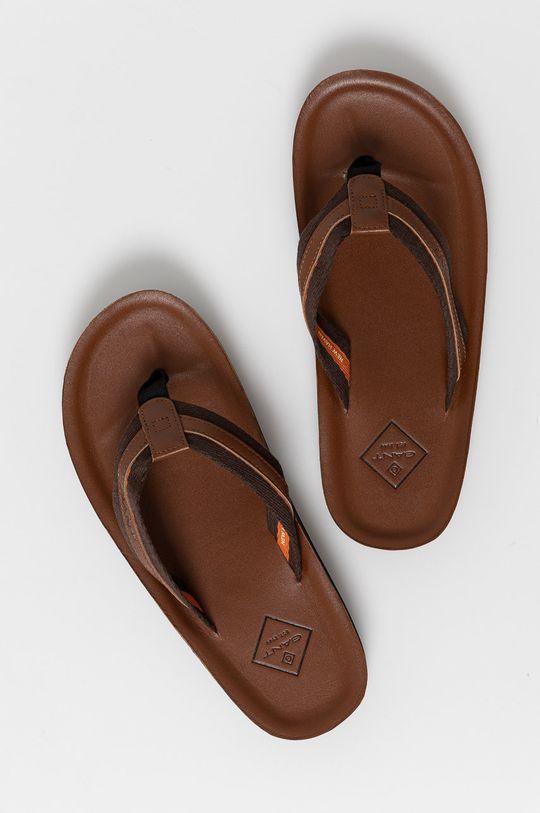 brązowy Gant - Japonki Palmworld