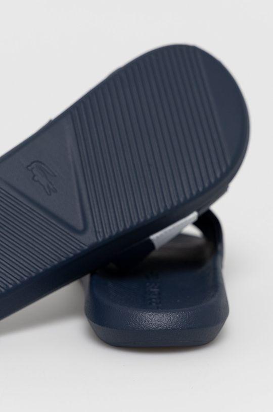 Lacoste - Pantofle Croco Slide  Svršek: Umělá hmota, Textilní materiál Vnitřek: Umělá hmota, Textilní materiál Podrážka: Umělá hmota