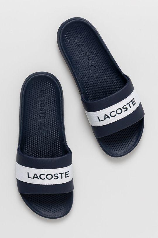 námořnická modř Lacoste - Pantofle Croco Slide