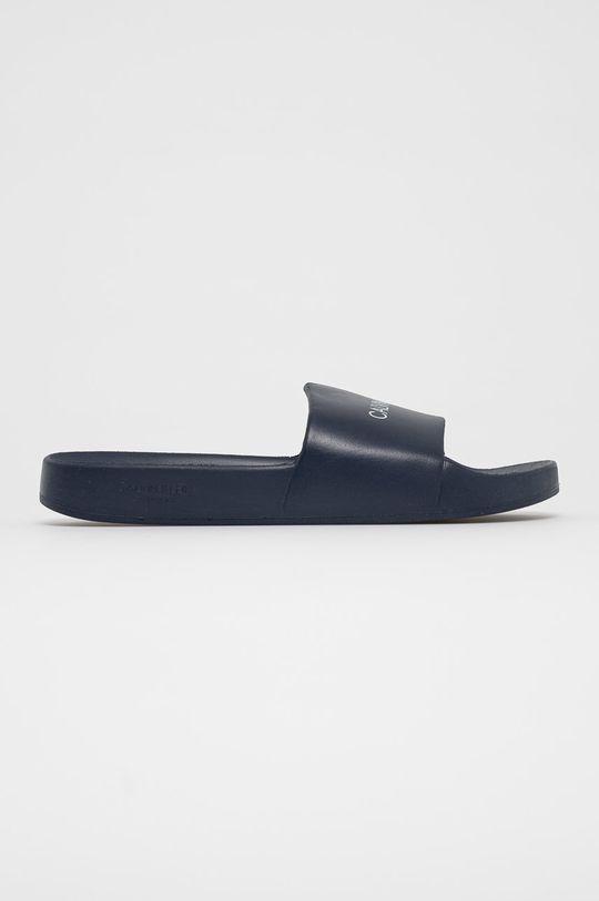 čierna Calvin Klein - Šľapky Pánsky
