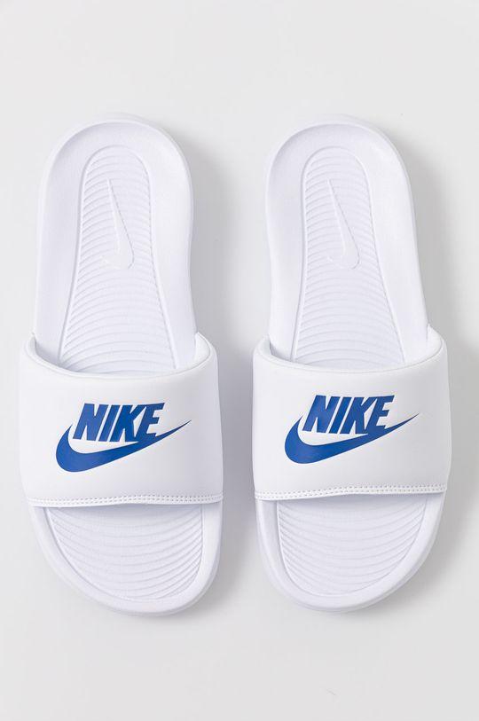 biały Nike Sportswear - Klapki