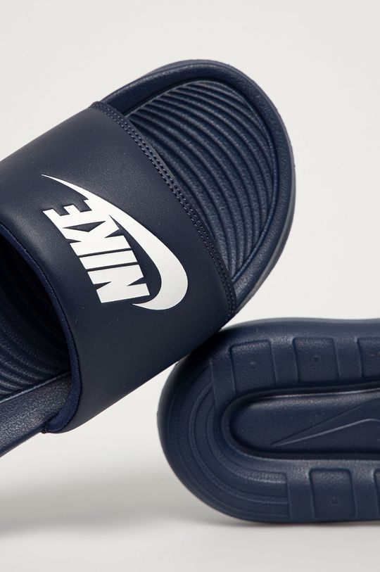 granatowy Nike Sportswear - Klapki