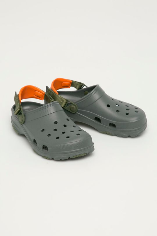 Crocs - Pantofle šedá