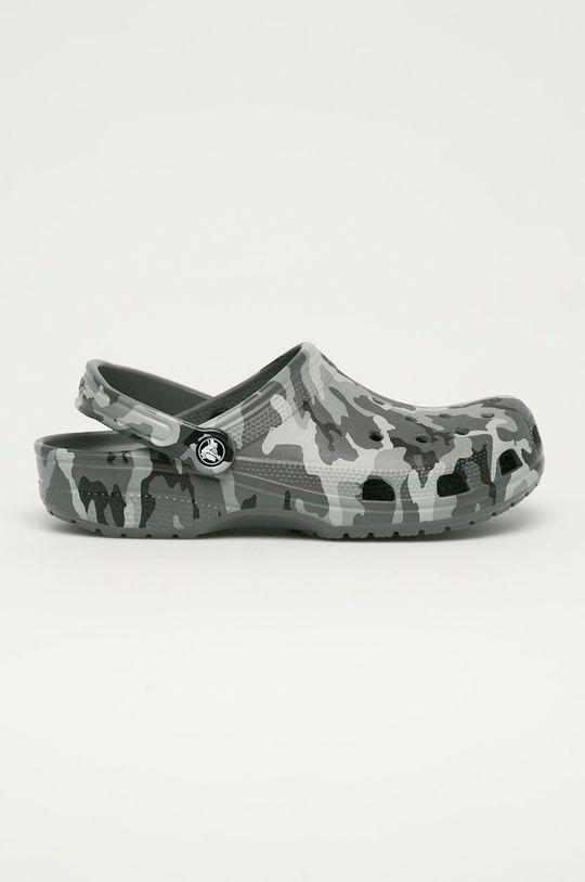šedá Crocs - Pantofle Pánský