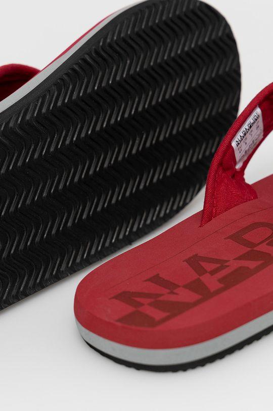 Napapijri - Žabky  Svršek: Textilní materiál Vnitřek: Umělá hmota, Textilní materiál Podrážka: Umělá hmota