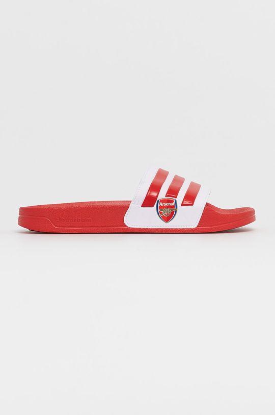 červená adidas - Šľapky ADILETTE Pánsky