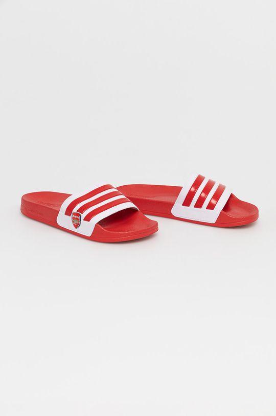 adidas - Šľapky ADILETTE červená