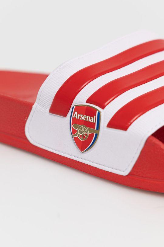 červená adidas - Šľapky ADILETTE