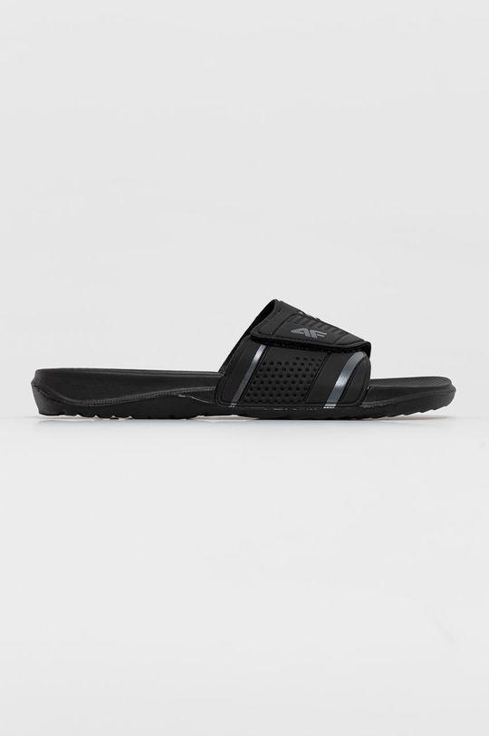 černá 4F - Pantofle Pánský