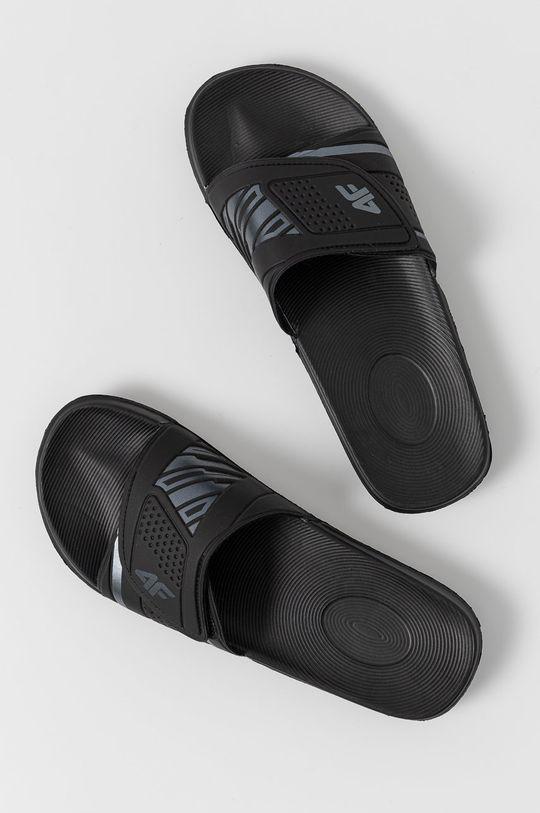 4F - Pantofle černá