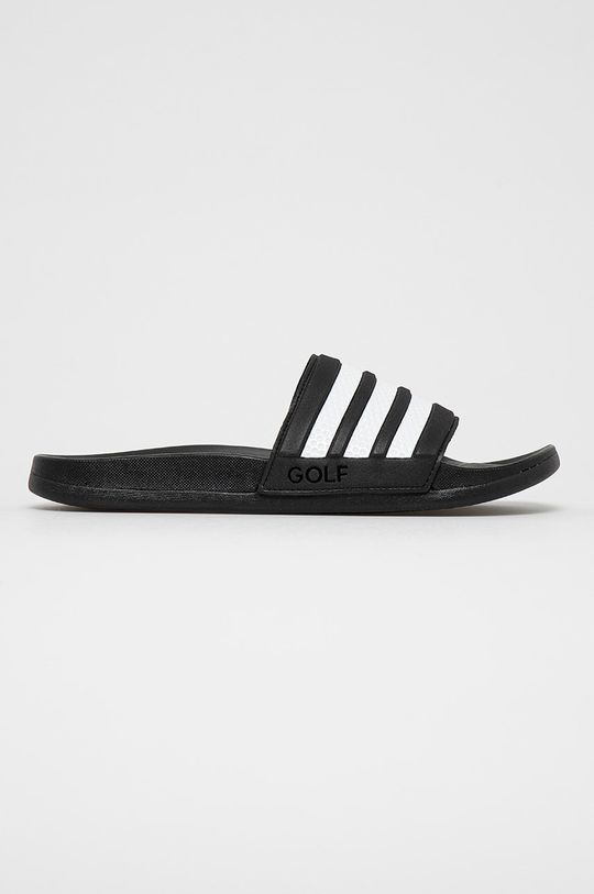czarny adidas - Klapki Adilette Comfort Męski