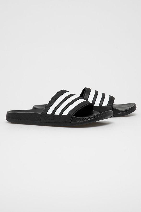 adidas - Klapki Adilette Comfort czarny