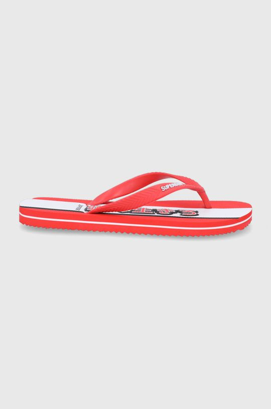 červená Superdry - Žabky Pánsky