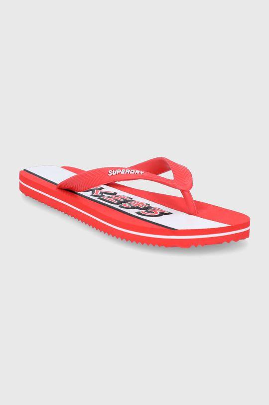 Superdry - Žabky červená