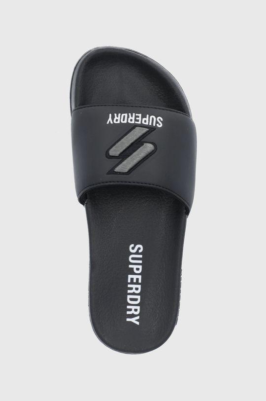 čierna Superdry - Šľapky
