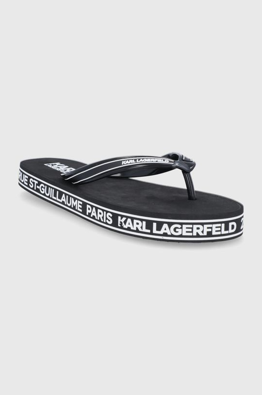 Karl Lagerfeld - Žabky černá